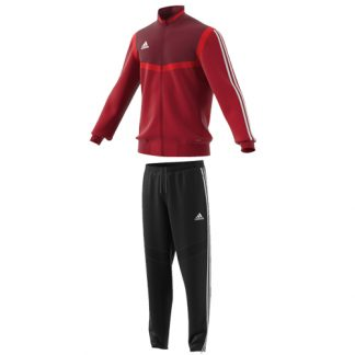 Survetement de presentation Adidas Tiro 19 D95933 D95951 Rouge Blanc