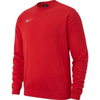 Sweat Nike Team Club 19 AJ1466 657 Rouge Blanc