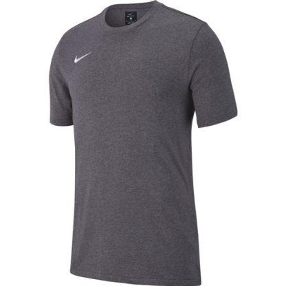 T-shirt Nike Team Club 19 AJ1504 071 Charcoal Blanc