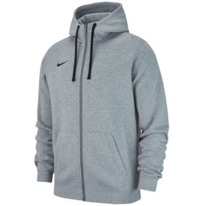 Veste a capuche Nike Team Club 19 AJ1313 063 Gris Blanc