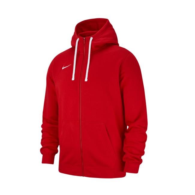 Veste-a-capuche-Nike-Team-Club-19-AJ1313-657-Rouge-Blanc sportscoshop