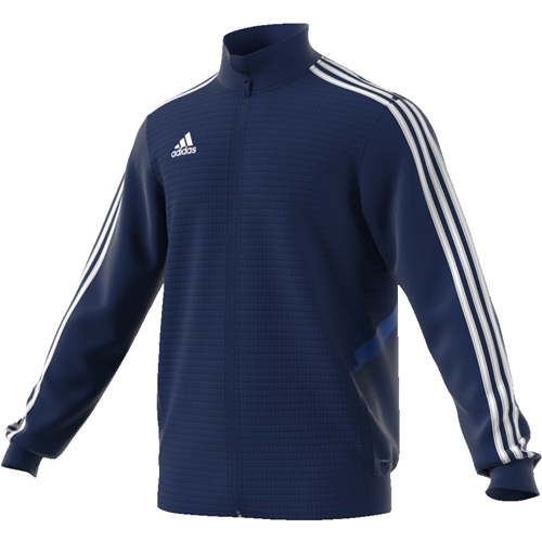 Veste d'entrainement Adidas Tiro 19 DT5275 Marine Blanc