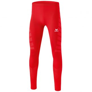 Collant long de compression Erima Rouge Blanc 2290701