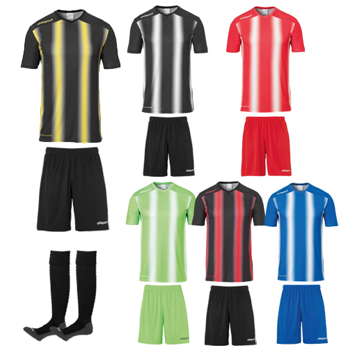 Ensemble Uhlsport Strip 20 Football 1002205 1003342 1003302