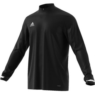 Maillot 1 4 zip Adidas Team 19 manches longues DW6852
