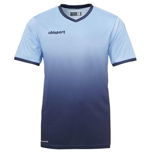 Maillot Uhlsport Division Bleu ciel Marine 100329303