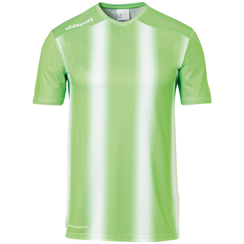 Maillot Uhlsport Stripe 20 Vert fluo Blanc 100220506