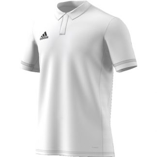 Polo Adidas Team 19 DW6875 Blanc