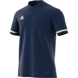 Polo Adidas Team 19 DY8806 Marine Blanc