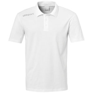 Polo Uhlsport Essential Blanc Noir 100221002