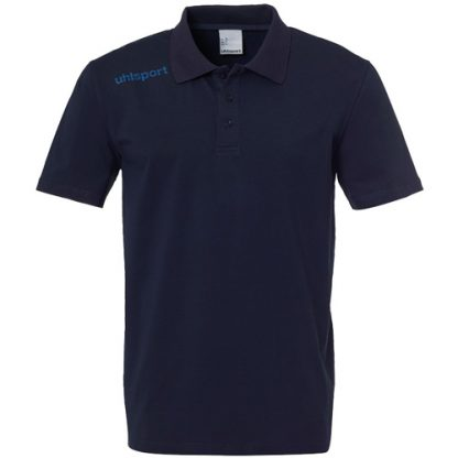Polo Uhlsport Essential Marine Blanc 100221012