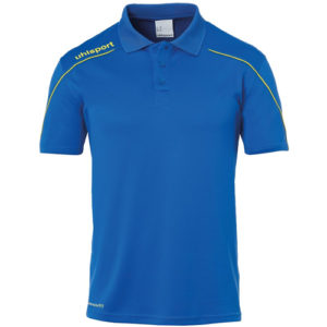 Polo Uhlsport Stream 22 Azur Jaune citron 100220414