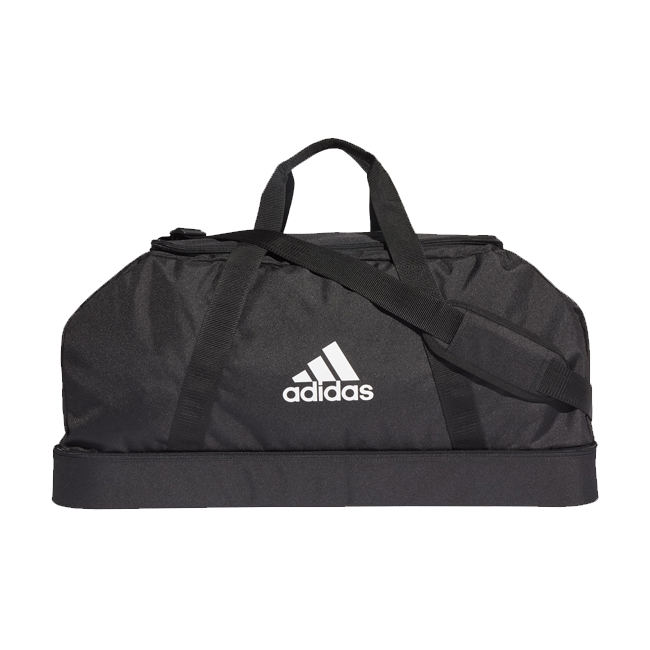 Sac ADIDAS Tiro Dufflebag Bottom Compartment taille L Noir Blanc GH7253
