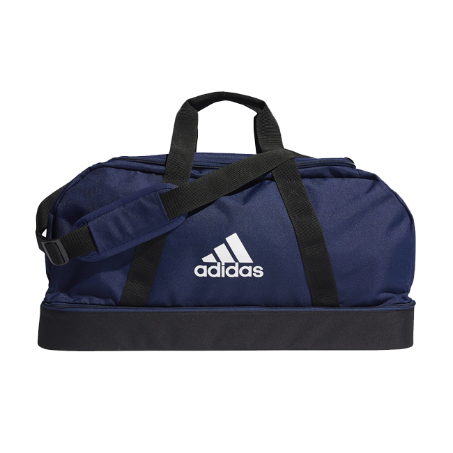 Sac ADIDAS Tiro Dufflebag Bottom Compartment taille M Marine Blanc GH7271