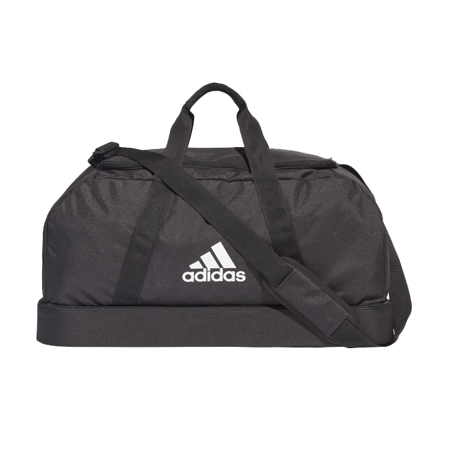 Sac ADIDAS Tiro Dufflebag Bottom Compartment taille M Noir Blanc GH7270