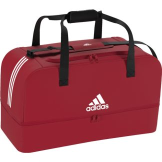 Sac Adidas Tiro Dufflebag Bottom Compartment - L DU1990 Rouge Blanc