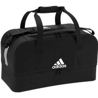 Sac Adidas Tiro Dufflebag Bottom Compartment - M DQ1080 Noir Blanc