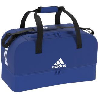 Sac Adidas Tiro Dufflebag Bottom Compartment - S DU2001 Bleu Blanc