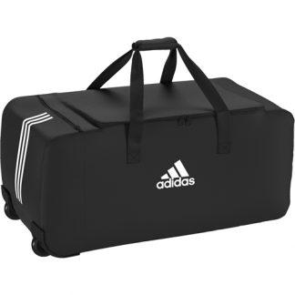 Sac a roulette Adidas Tiro Dufflebag DS8875 Noir Blanc