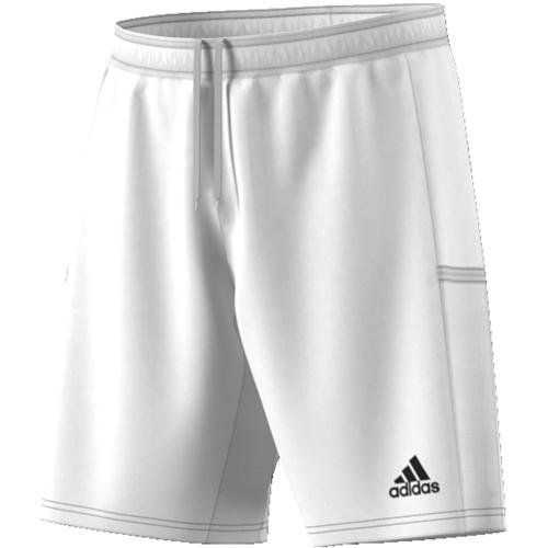 Short d'entrainement Adidas Team 19 DW6865 Blanc Noir