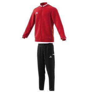 Survetement d'entrainement Adidas Team 19 DX7323 DW6862 Rouge Blanc