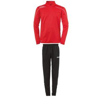 Survetement d'entrainement Uhlsport Stream 22 Rouge Blanc 100220304 100522101