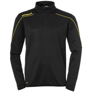 Sweat 1 4 zip Uhlsport Stream 22 Noir Jaune 100220323