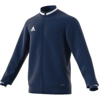 Veste d'entrainement Adidas Team 19 DY8838 Marine Blanc