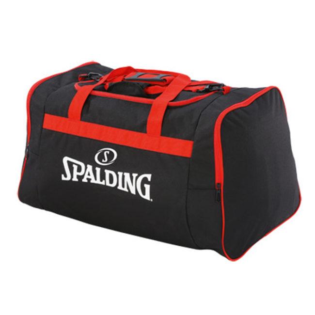 Sac de sport Spalding Team Bag Large 300453703 noir rouge