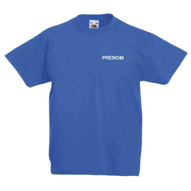T-shirt ENFANT Blanc Elan Gymnique Courbevoie SC231