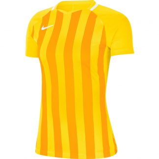 Maillot Nike Striped Division III Femme CN68888 719 Jaune Or