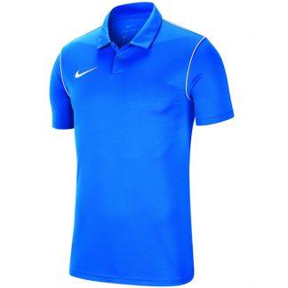 Polo Nike Park 18 BV6879-463 Bleu Blanc