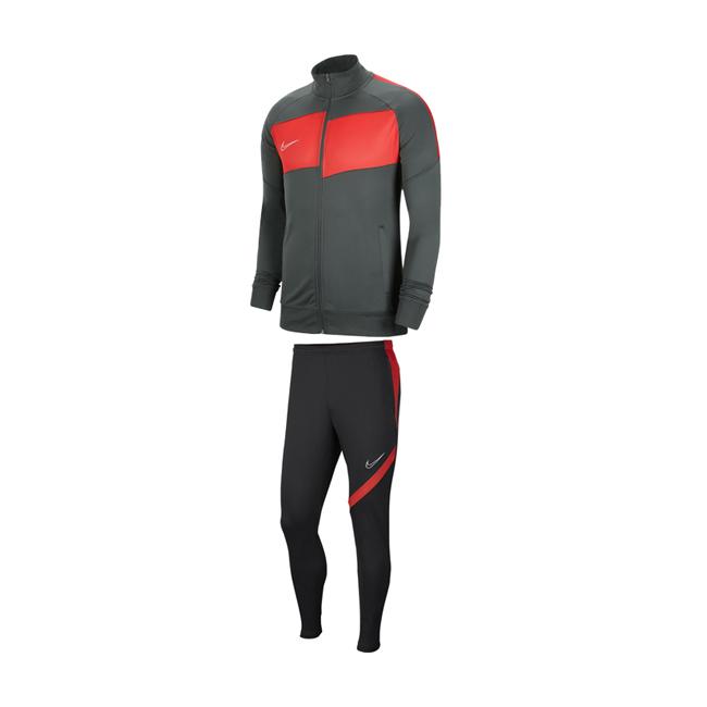 Survetement-Knit-Nike-Academy-Pro-BV6918-068-BV6920-070-Anthracite-Saumon Sportscoshop