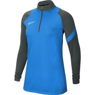 Sweat Nike Academy Pro Femme BV6930-406 Bleu Anthracite