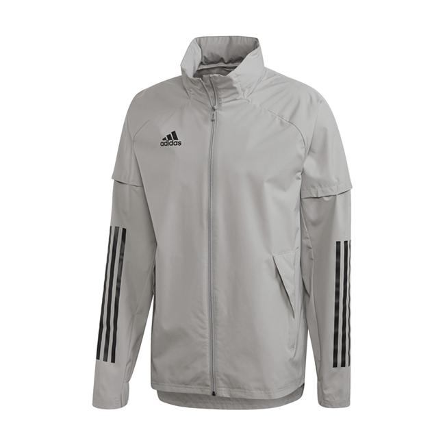 Coupe-vent Adidas Allweather Condivo 20 ED9192 Gris Noir