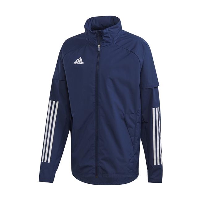 Coupe-vent Adidas Allweather Condivo 20 ED9256 FN0027 Marine Blanc