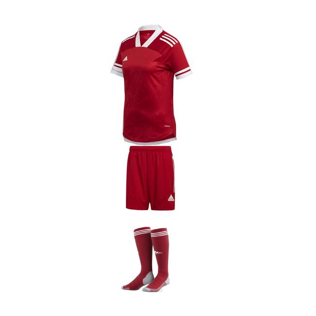 ensemble adidas femme rouge