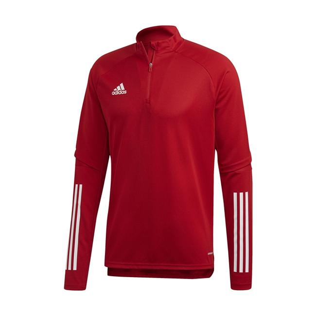 Haut d'entrainement ADIDAS Condivo 20 Rouge Blanc FS7115 FS7126