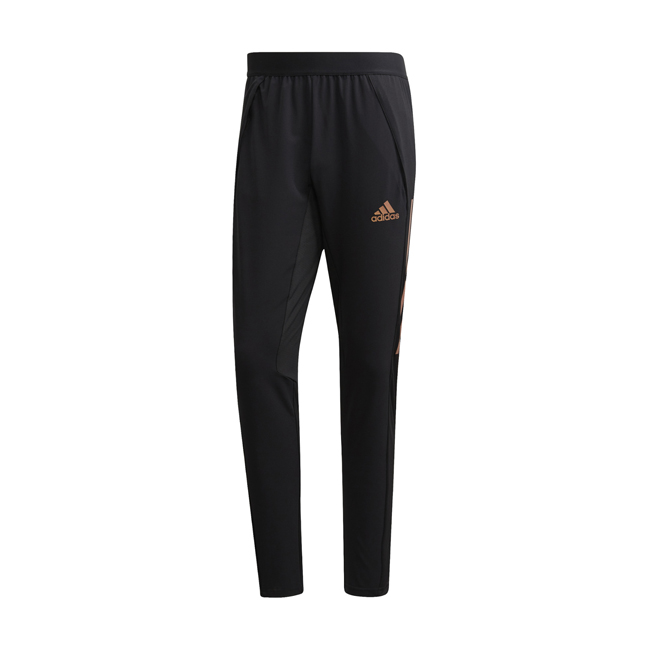 Pantalon d'entrainement ADIDAS Condivo 20 Ultimate Noir Orange EA2503