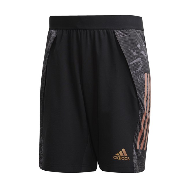 Short d'entrainement ADIDAS Condivo 20 Ultimate Noir Orange EA2500