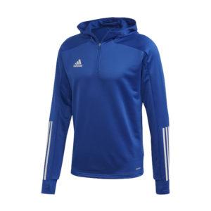 Sweat a capuche ADIDAS Condivo 20 Bleu Blanc EK2959 EK2954