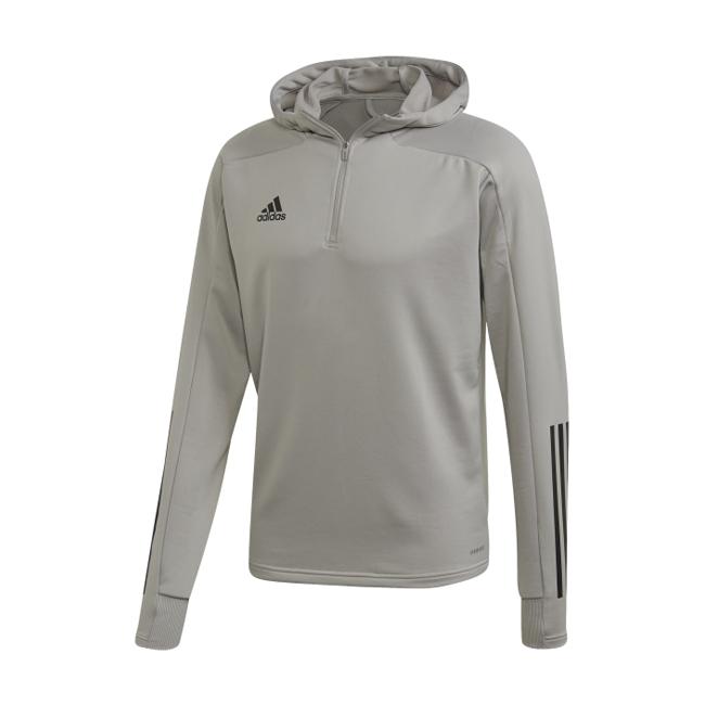 Sweat a capuche ADIDAS Condivo 20 gris