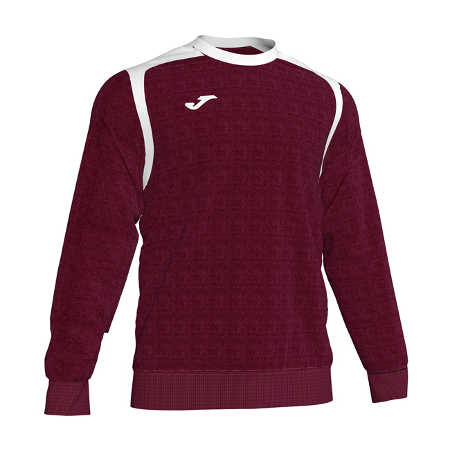 Sweat Joma Championship V 101266 Bordeaux Blanc