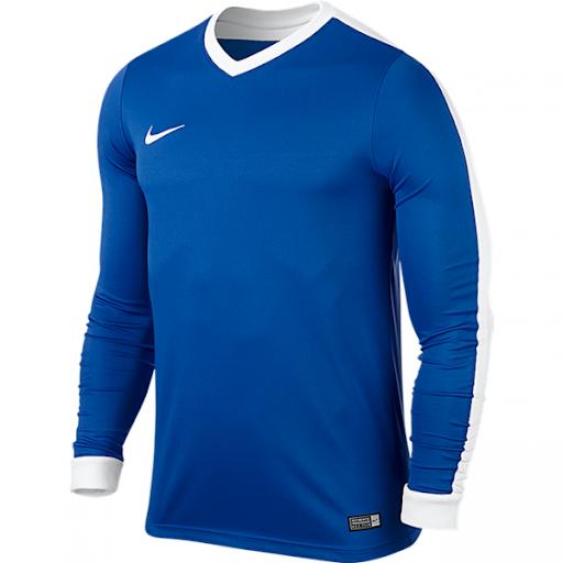 lot-10-maillot-nike-striker-manches-longues-bleu-725885-463