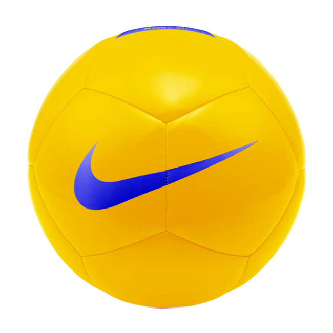 Ballon Nike Pitch Team Jaune Bleu SC3992-710