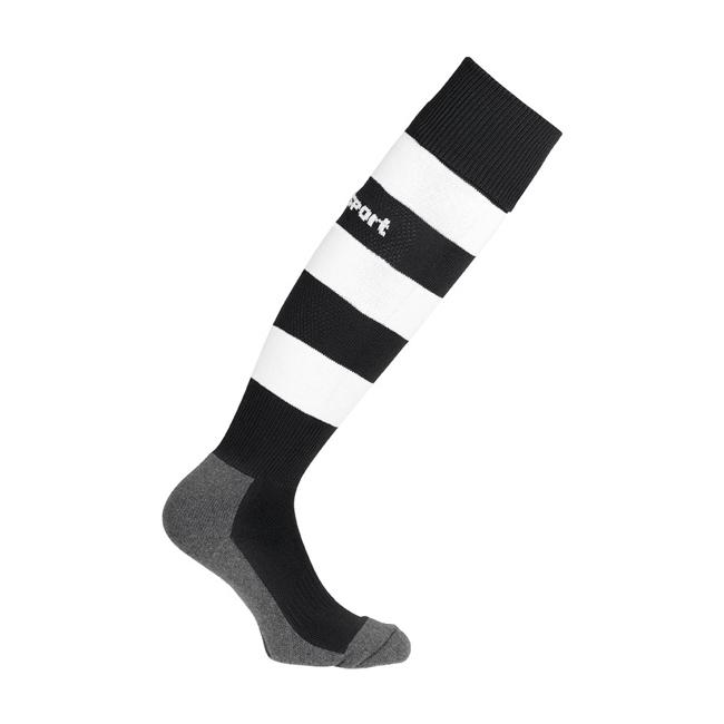 Chaussettes Uhlsport Team Pro Essential Stripe Noir Blanc 1006100