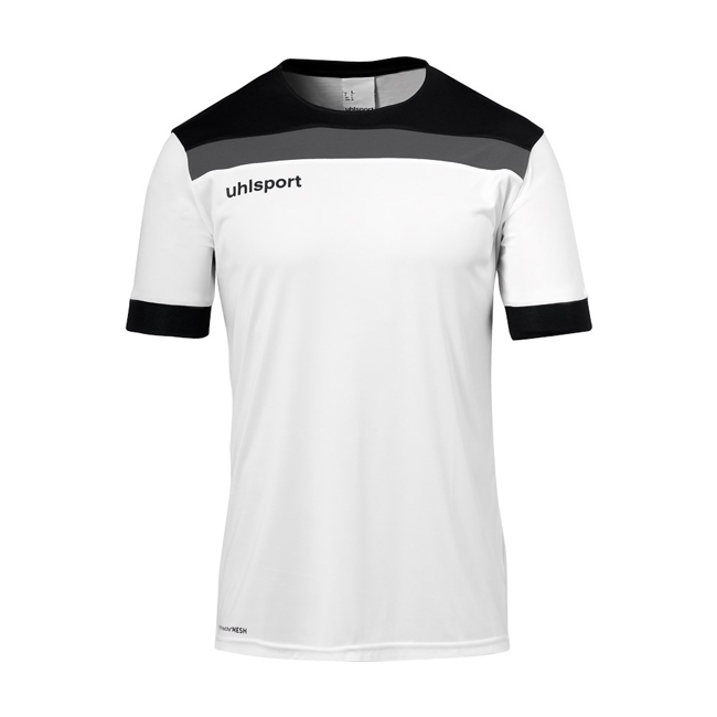 Maillot Uhlsport Offense 23 Blanc Noir 1003804
