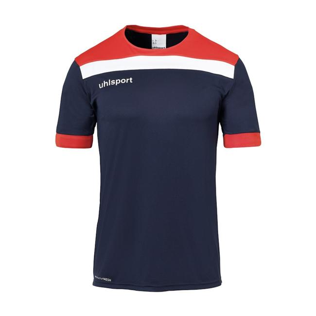 Maillot Uhlsport Offense 23 Bleu marine Rouge Blanc 1003804