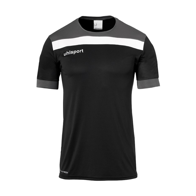 Maillot Uhlsport Offense 23 Noir Blanc 1003804