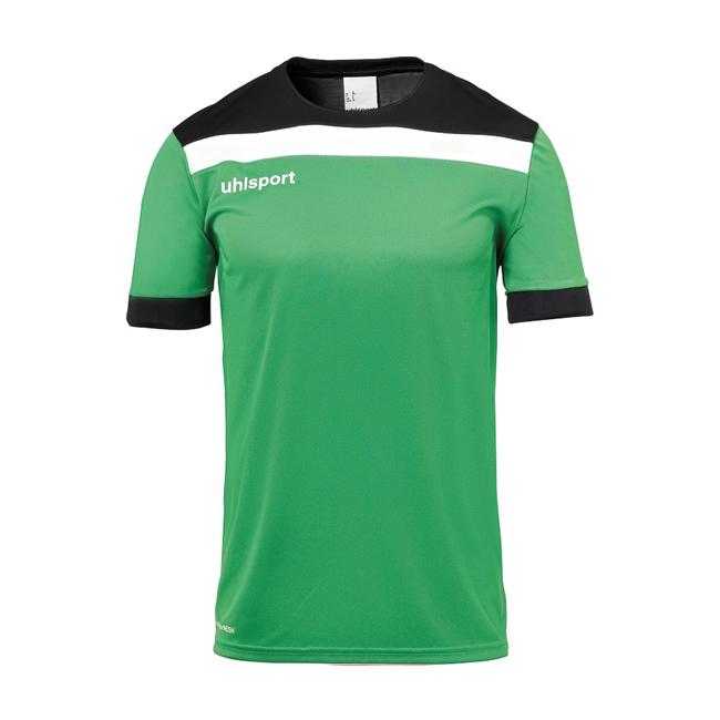 Maillot Uhlsport Offense 23 Vert Noir Blanc 1003804
